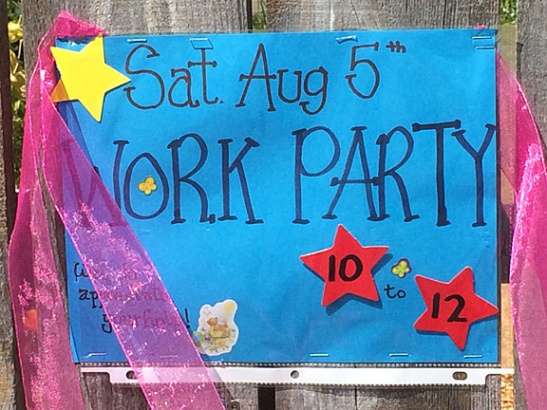 August Work Party
